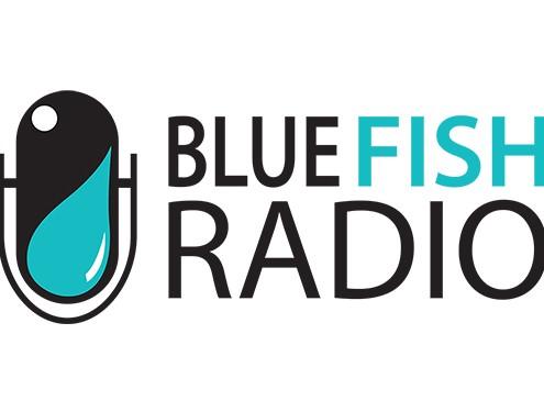 blue fish radio logo