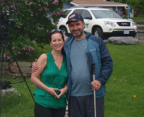 Lawrence and Kimothy Walker from CTV News