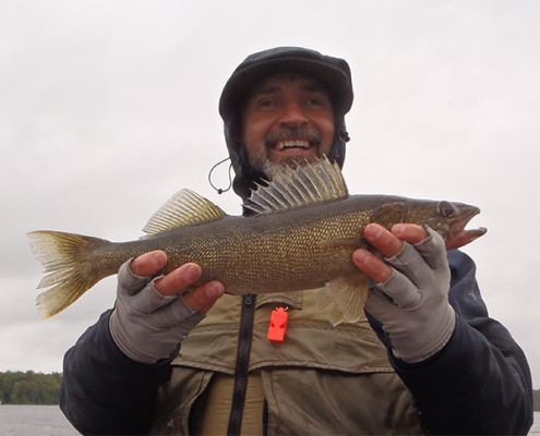 Some times the threat of rain is all it takes to turn on the bigger fish, and make you forget how wet you really get.