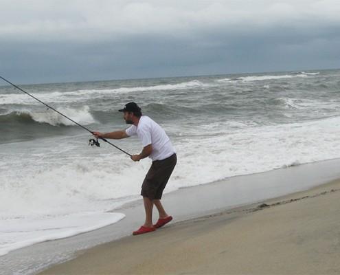 Lawrence surf casting