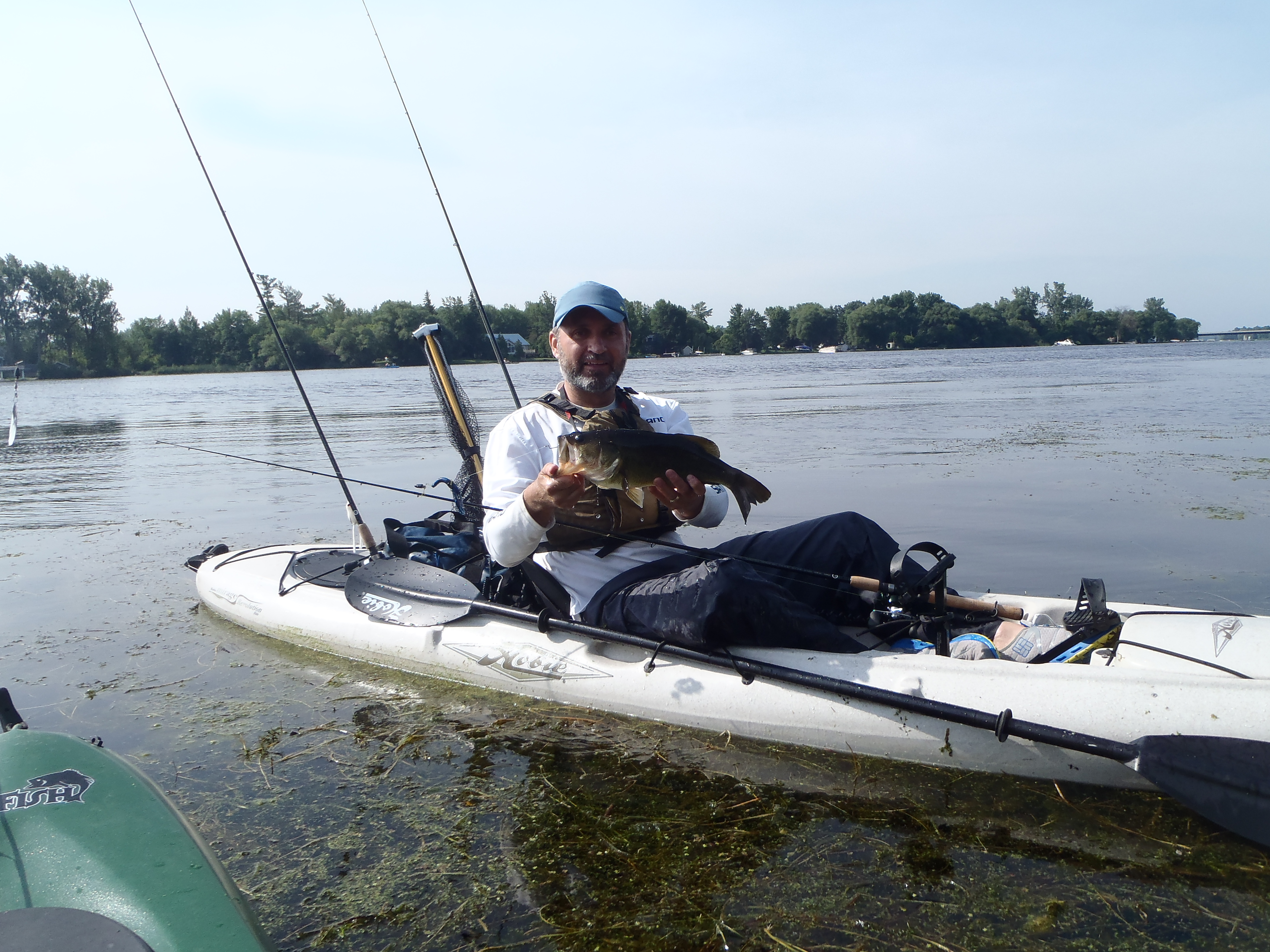 Jenda paddle sports kayak fishing derby lawrence gunther for Kayak bass fishing tournaments