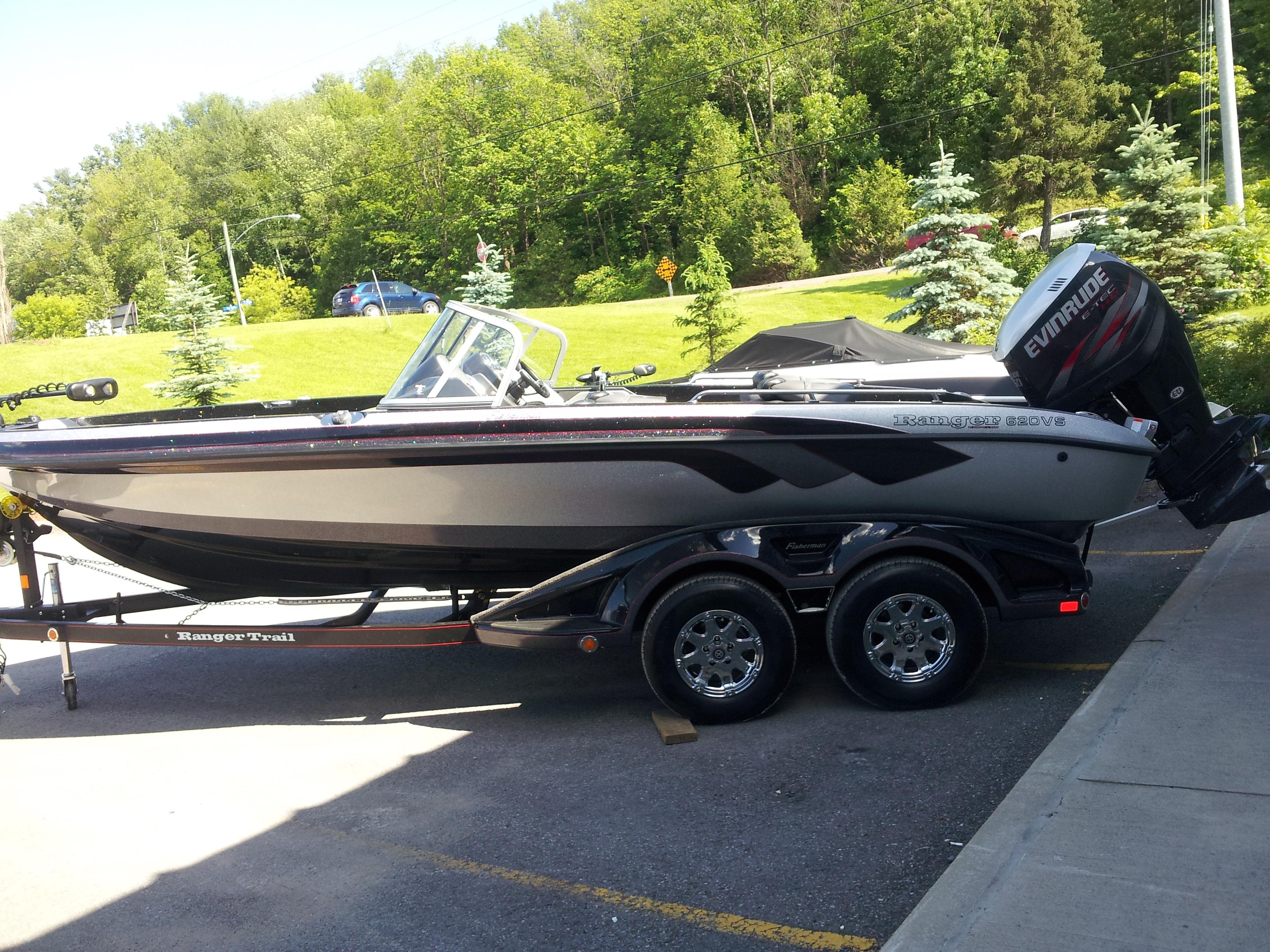 New Ranger 620 Fisherman / 250 HP High-Output E-Tech