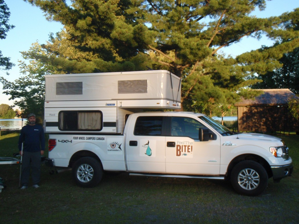 Truck Camping with My New Ford 150 and Four Wheels Hawk