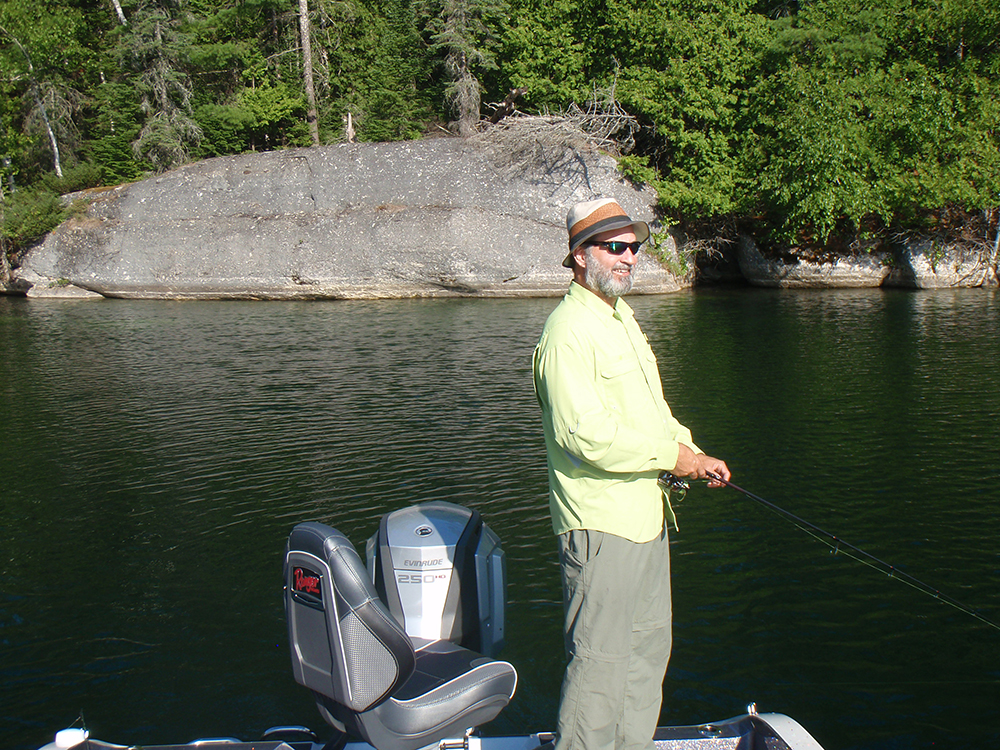 Fishing for bass on canadian shield lakes lawrence gunther for Take me fishing lake locator
